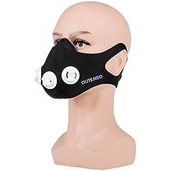 OUTERDO- Máscara de Entrenamiento Ajustable 2.0 - Simulación Entrenamiento Altitud