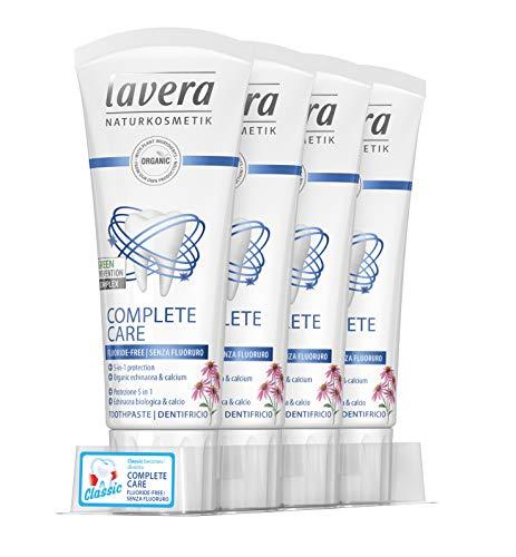 Lavera Dentifricio Complete Care Senza Fluoruro - 4 x 75 ml. (totale 300 ml.)