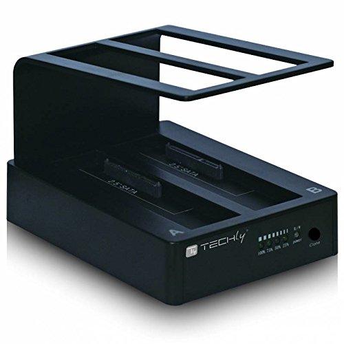 Techly I-Case SATA-TST42 Negro estacion Base HDD/ssd