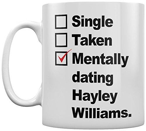 Grindstore Kaffeebecher Mentally Dating Hayley Williams weiß (Hayley Tee)