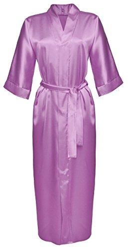 Di lusso DKaren vantano nastro di raso accappatoio Kimono pigiama Set Lingerie - 130 - vari colori Heath