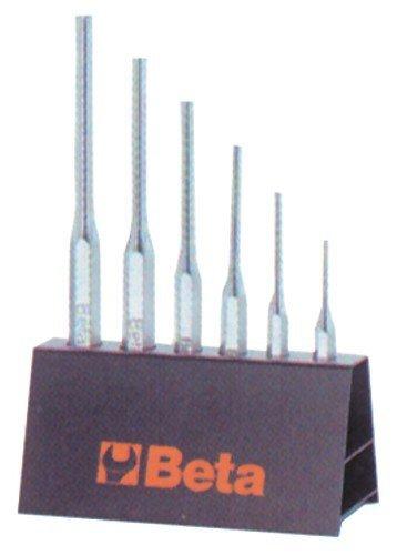 Serie Splintentreiber Art. 31/SP6aus Chrom vanadium Stahl. Ausführung Chrom mit Tragplatte. A Normen Uni 7502.
