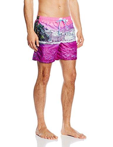 Jack & Jones Tech Herren Schwimmhose Fresh Swimshorts Knockout Pink