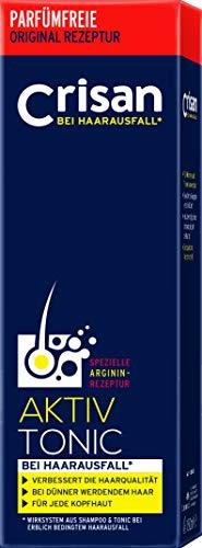 Crisan Anti-Haarausfall System Aktiv-Tonic - Haarwasser mit L-Arginin für volles Haar/ 1er Pack (1x150ml)