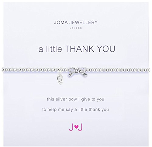 A Little Thank You Silver Bracelet By Joma Jewellery