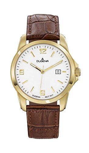 Dugena Men's Quartz Watch 4460449 with Leather Strap