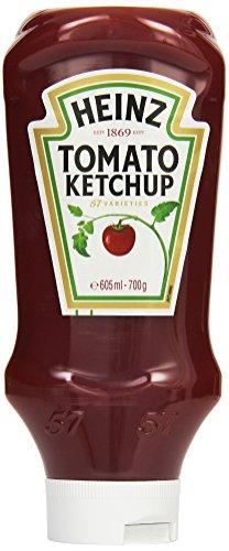 Heinz Tomato Ketchup, Kopfsteher-Dosierflasche, 605 ml