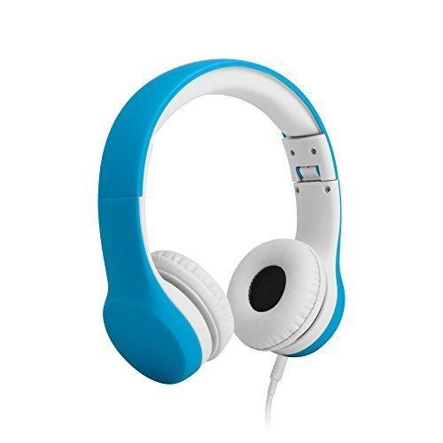 Auriculares con cable para niños LilGadgets Connect+ con limitador de volumen y conector SharePort - Azul