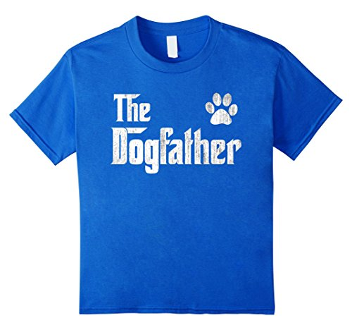 The Dogfather Shirt Dog Dad Fathers Day Dog Lover Gift Shirt