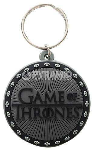 Game of Thrones portachiavi in gomma Logo Game of Thrones Logo rubber keychain