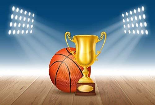 vrupi Golden Trophy Cup Background Photography Background 10x6.5ft Basketball Court Winner Trophy Winner Succeed Victory Luck Gold Target Goal Vector Award Achievement Game Sport Symbol -
