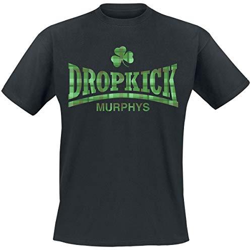 Dropkick Murphys Fighter Plaid T-Shirt schwarz L -