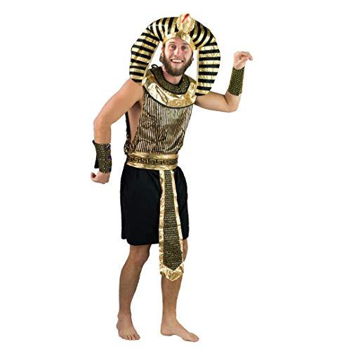 Bodysocks Fancy Dress Costume da Faraone Egizio per Uomo (Taglia Large)