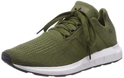 adidas Unisex-Kinder Swift Run Fitnessschuhe, Mehrfarbig Carace/Carbon 000, 38 EU