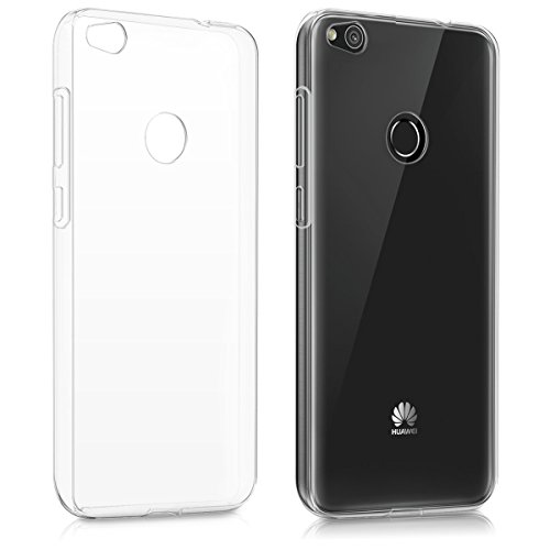kwmobile Crystal Case Hülle für > Huawei P8 Lite (Version 2017) < aus TPU Silikon - transparente Schutzhülle Cover klar in Transparent