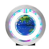 Anyutai Elf-Rotating Globe Magnetisches Erdmeter Levitation Floating Globe Rätselhaftes Deko-Büro - Satellitenball