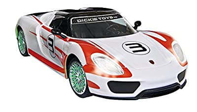 Dickie Toys 201119075 - RC Porsche Spyder, funkferngesteuertes Fahrzeug, 26 cm von Dickie-Spielzeug