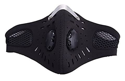 SaySure - Outdoor Cycling Mask With Filter Half Helmet Face