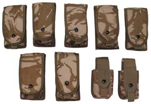 Brit. Munitionstaschenset, 9-teilig, DPM desert, neuw.