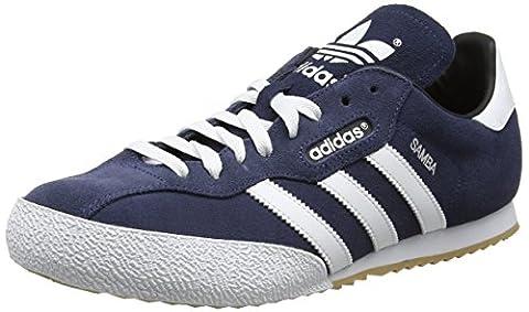 adidas Herren Samba Super Suede Sneaker, Blau (Navy), 46 EU