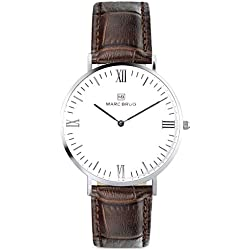 Marc Brüg Men's Minimalist Watch Madison 41 Hygge