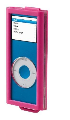 Belkin Schutzhülle für Apple iPod nano 2. Generation transparent/pink - Ipod Nano 2. Generation Video