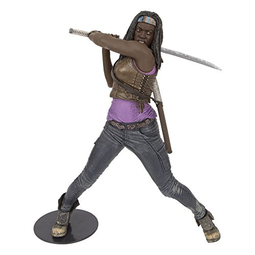 The Walking Dead, 25,4 cm, TV Michonne Deluxe Figur (Dead Deluxe Walking)