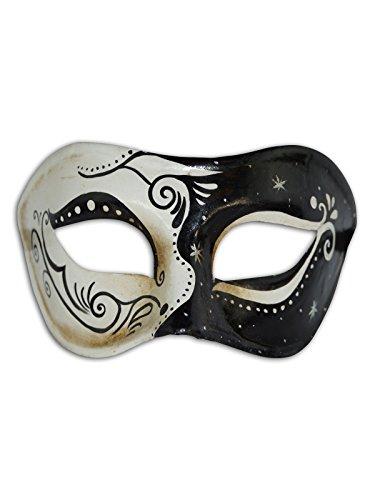 Venezianische Augenmaske Colombina Claudia für Männer und Frauen