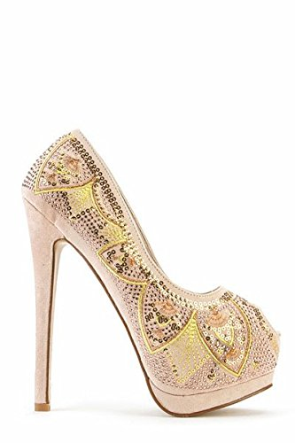 veka-sports-collection-paillettes-peep-toe-chaussures