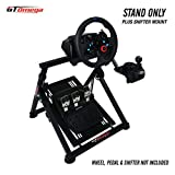 GT Omega corsa APEX Volante supporto per Fanatec CSL Elite Gaming volante, pedali e Shifter Monte - Sostenere Fanatec Clubsport PS4 Xbox PC - inclinazione regolabile a Ultimate Sim Racing Experience