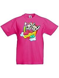 T-Shirt Maglietta dei Me Contro Te Sofi e Lui - Kira e Ray 100% Cotone