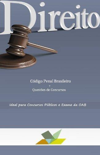 Código Penal Brasileiro com Questões (Portuguese Edition) por Editions m.rec