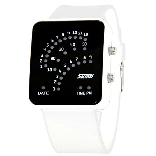 [personalità]LEDOrologio/Orologio impermeabile ventilatore/Uomini e donne orologio da polso-C