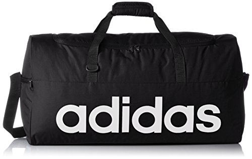 Adidas Z35693 - Borsa sportiva Linear Performance Small, Uomo, Sporttasche Linear Performance Teambag Small, nero, Taglia unica