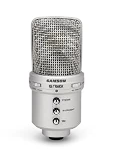 Samson SAGM1U G-Track Microphone à condensateur supercardioïde USB