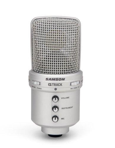 Samson G-Track USB Studiomikrofon mit integriertem Audiointerface