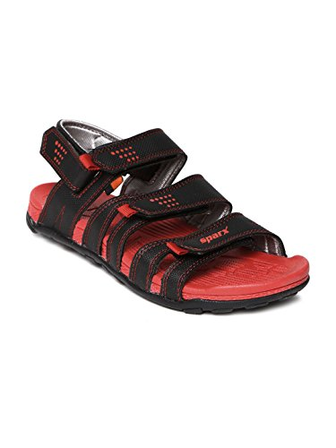 SPARX MEN BLACK RED SPORTS SANDAL 434 (6)  available at amazon for Rs.804