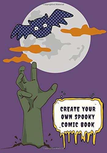 Create Your Own Spooky Comic Book