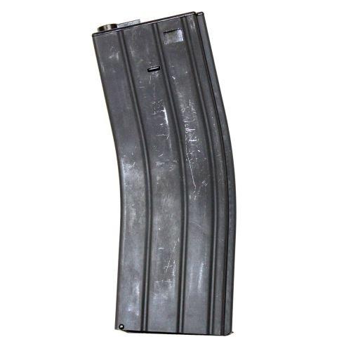 AIRSOFT M4 M16 SCAR PLASTIC TAN DE LONEX P MAGAZINE 200 RDS ASG MID CAP