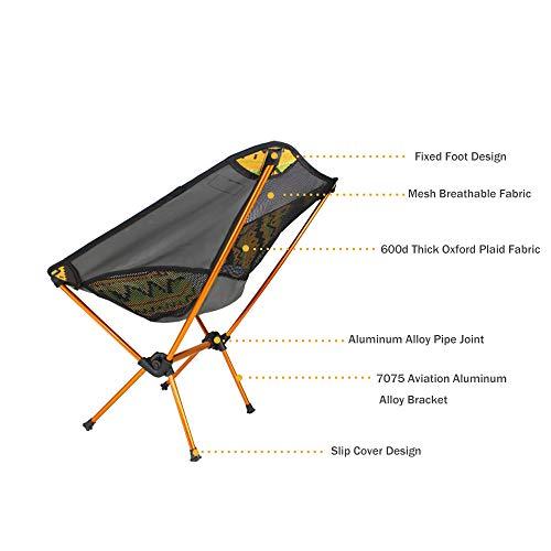 Zoom IMG-3 sedia da campeggio giardino ultra