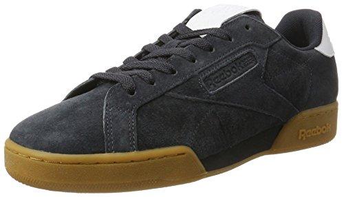 Reebok NPC UK II, Sneakers Basses Homme, Gris Bleu (Lead/white)