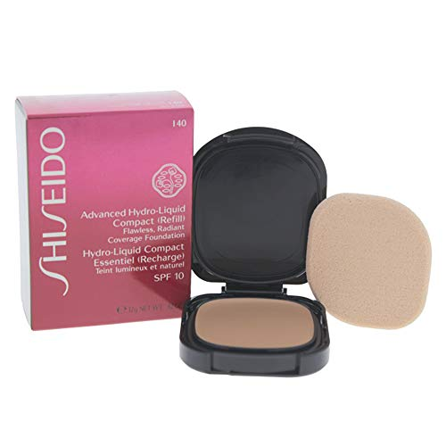 Shiseido Foundation femme/woman, Advanced Hydro-Liquid Compact Refill Nummer I40 Natural Fair Ivory, 1er Pack (1 x 12 ml)