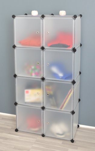 Transparentes Badezimmer Regalsystem - 8