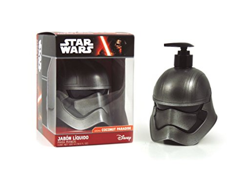 Star Wars Figurine 3D Phasma Gel douche & Shampooing, 500 ml