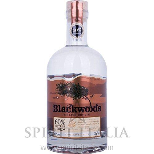Blackwoods Vintage Dry Gin Limited Edition OVERPROOF 2017 60,00 % 0.7 l.