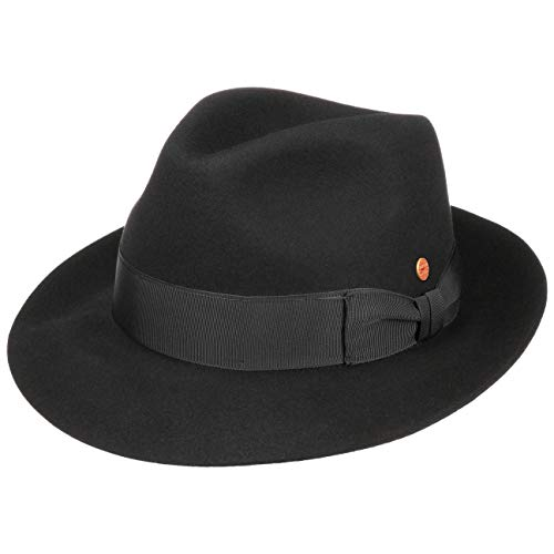 Mayser Homme Chapeau Fedora City noir