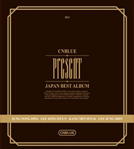 CNBLUE:Present礼物韩语新唱特选辑(CD+DVD) (Dvd Cnblue)