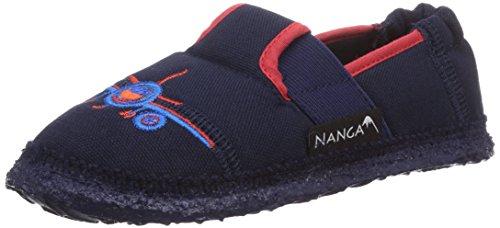 Nanga NG 1 Jungen Flache Hausschuhe Blau (32)