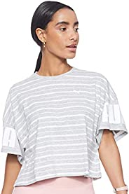 PUMA Women's Rebel Striped
