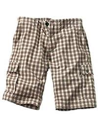Amazon.es  Pantalones A Cuadros Hombre - Pantalones cortos ... eac41ba2d4cb